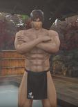 Ryu Hayabusa - Bath Outfit (MS)