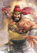 Zhang Fei Watercolor Artwork (ROTK13PUK DLC)