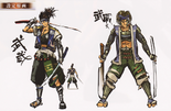 Musashi Miyamoto Concept Art (SW4)