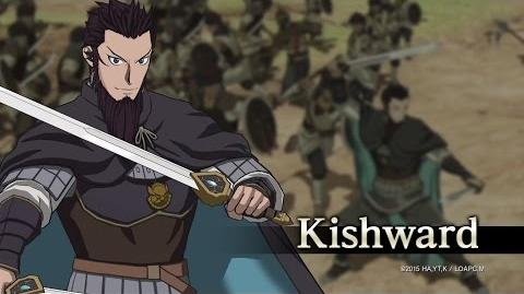 Arslan The Warriors of Legend Kishward Character Highlight