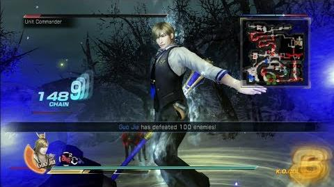 Dynasty Warriors 8 Guo Jia Gameplay with DLC Costume Battle of Xu Province