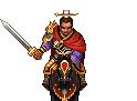 Sima Zhao Battle Sprite (ROTKLCC)