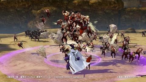 PS4・PS3・PS Vita「ワンピース 海賊無双3」 プレイ動画【藤虎】篇