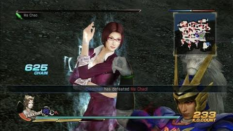 Dynasty Warriors 8 Diao Chan Gameplay with DLC Costume Battle of Liang Province