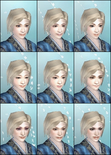 DW6E Female Face Parts