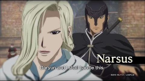 Arslan The Warriors of Legend - Narsus Character Highlight