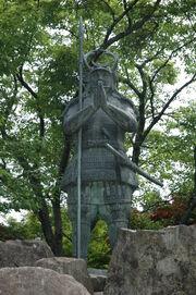 Shikanosuke-statue
