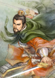 Liu Bei Watercolor Artwork (ROTK13PUK DLC)