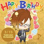 Takumi Sunaga Birthday Post (KC3)