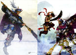 Dynasty Warriors 4 Artwork - Zhang Liao