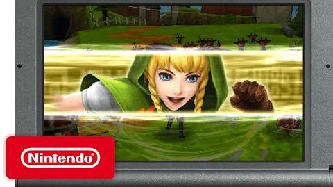 Hyrule Warriors Legends - Link's Awakening Pack DLC Trailer
