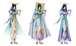 Zhen Ji Concept Art 2 (DW6)