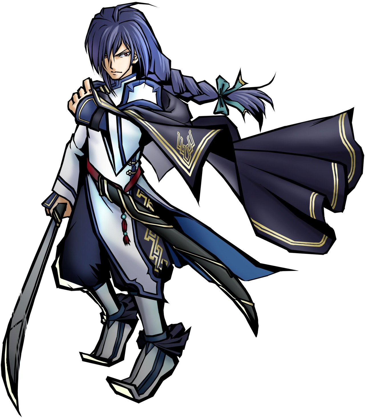 Four gods koei wiki fandom powered by wikia is my fate bound to this azure banner very well then let my blade cleave the path of fate biocorpaavc Choice Image
