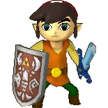 Toon Link Alternate Costume 3 (HWL DLC)