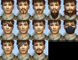 Male Facial Marks (DWO)