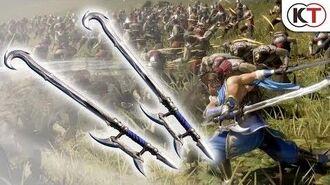 "Dynasty Warriors 9 - Additional Weapon ""Dual Hookblades"""