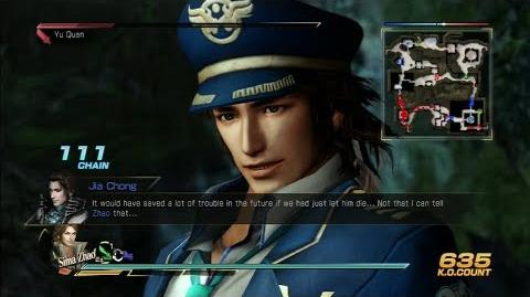 Dynasty Warriors 8 Sima Zhao Gameplay with DLC Costume East Gates Battle