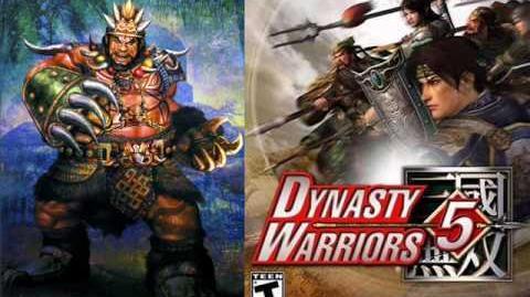 Dynasty Warriors - Nanman Soundtracks DW3 - DW6