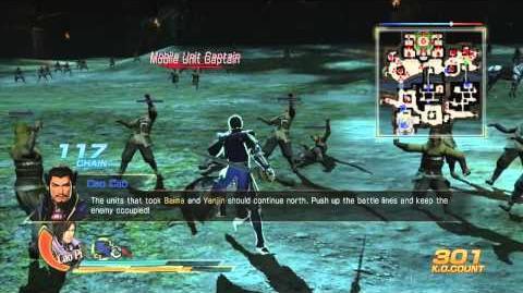 Dynasty Warriors 8 Chapter 7 Battle of Guandu (Wei, Xbox 360 playing)