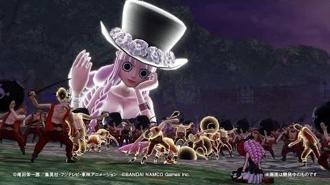PS4・PS3・PS Vita「ワンピース 海賊無双3」 プレイ動画【ペローナ】篇
