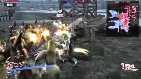 Dynasty Warriors 7 Empires TGS 2012 Demo Gameplay (Cam)