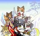 Samurai Cats