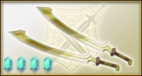 Golden Twin Blades (AWL)