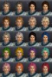 DW7E Hair Color Parts