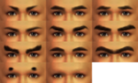 Male Eyebrows (SWC3)