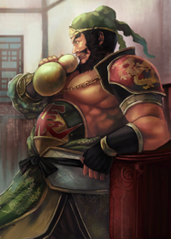 Zhang Fei Artwork (DW9)