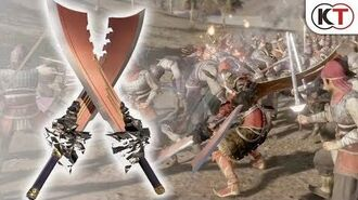 """DYNASTY WARRIORS 9 Additional Weapon """"Inferno Voulge"""""""