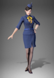 Zhenji Uniform Costume (DW9 DLC)