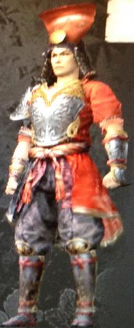 File:Red Lacquered Ichinotani (Kessen III).png