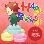 Shiro Hozumi Birthday Post (KC3)