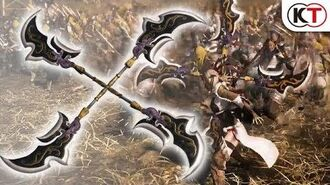 """Dynasty Warriors 9 - Additional Weapon """"Crossed Pike"""""""