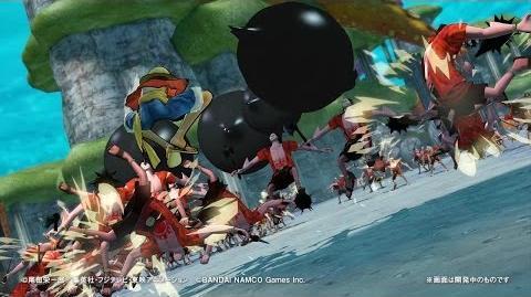 PS4・PS3・PS Vita「ワンピース 海賊無双3」 プレイ動画【モンキー・D・ルフィ】篇