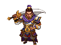 Young Xiahou Dun Battle Sprite (ROTKLCC)