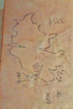Map of Berk