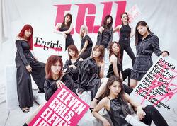 E-girls - EG11 2DVD cover