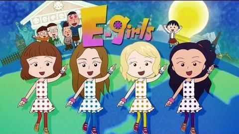 E-girls - Odoru Ponpokorin ~Animation Clip~