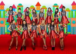 E-girls - Odoru Ponpokorin promotional