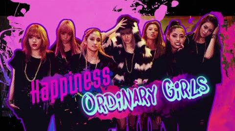 Happiness - Ordinary Girls