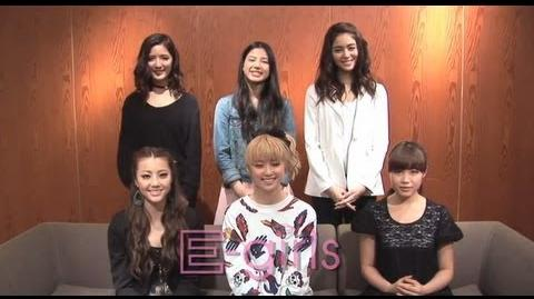 "E-girls - 1st Album ""Lesson 1"" Special Comment"