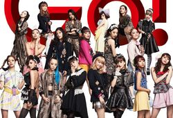 E-girls - Go Go Let's Go promo