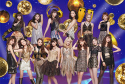 E-girls - Dance Dance Dance lineup