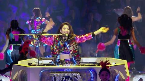 "E-girls - DJ Erie Medley (from E-girls LIVE TOUR 2015 ""COLORFUL WORLD"" in Saitama Super Arena)"