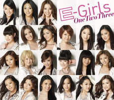 E-girls - One Two Three One Coin CD