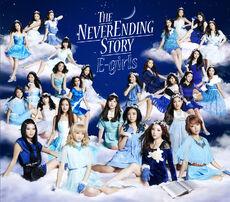 E-girls - The Never Ending Story One Coin CD