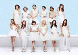 E-girls - Mr Snowman promo