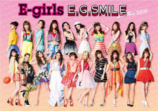 E-girls - EG SMILE Tour promo